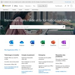 Support technique - support.office.com