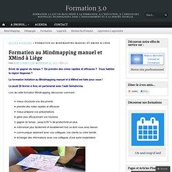 Formation au Mindmapping manuel et XMind à Liège