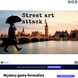 Street art attack !