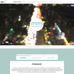 Formation - Multimedia Sorbonne