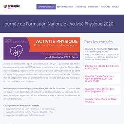 Journée de Formation Nationale - Activité Physique 2020 - Trilogie Santé
