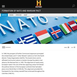 Formation of NATO and Warsaw Pact - Cold War