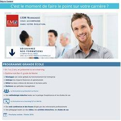 Formation continue : l'EM Normandie vous accompagne dans votre évolution