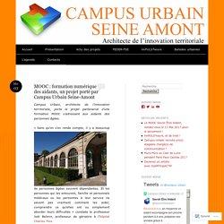 MOOC : formation numérique des aidants, un projet porté par Campus Urbain Seine-Amont