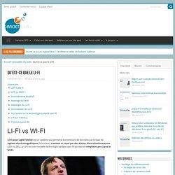 Qu'est-ce que le LI-FI - Formation Outils Web par GRACIET EIRL
