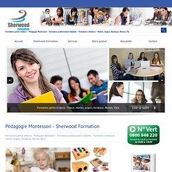 Formation pédagogie Montessori - Nantes Angers Bordeaux Rennes Paris - Sherwood Formation