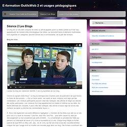 Blogs et usages pédagogiques