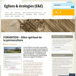FORMATION – Sillon spirituel de la permaculture