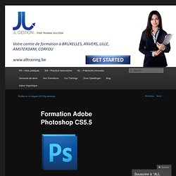 Formation Adobe Photoshop CS5.5