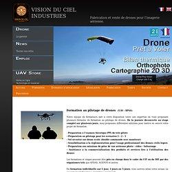 Formation pilotage de drones (UAV-RPAS).