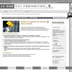 Formation Gestes et postures de sécurité dans le travail à Rennes - Bruz - Formation continue