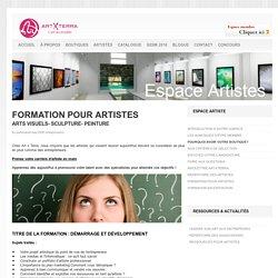 FORMATION POUR LES ARTISTES - gestion de carrière