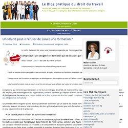 Le blog pratique du droit du travail - Nathalie Lailler Avocat Caen