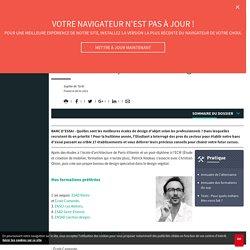 Design objet : les formation préférées de Patrick Nadeau, architecte designer - L'Etudiant