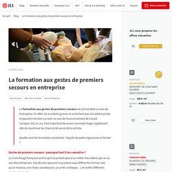 La formation aux gestes de premiers secours en entreprise