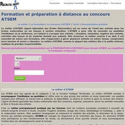 Formation et préparation concours ATSEM à distance