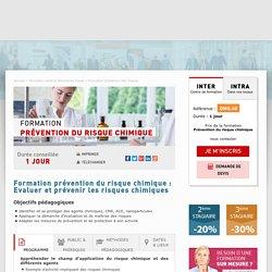 Formation Prévention du risque chimique - CNFCE