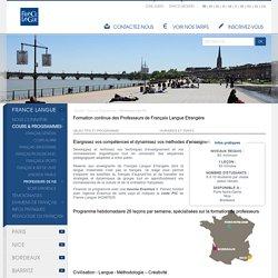 Formation pour professeurs de Français Langue Etrangère (FLE)
