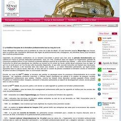 Projet de loi relatif à la formation professionnelle tout au long de la vie et au dialogue social