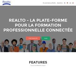 Realto-About - REALTO La plate-forme pour la formation professionnelle connectée