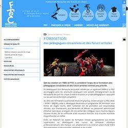 FFEC : Formation professionnelle arts du cirque