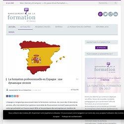 Formation professionnelle en Espagne : une dynamique récente