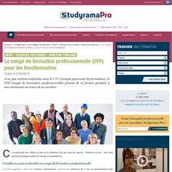 Fonction publique : tout savoir sur le CFP, congé de formation professionnelle - Studyrama Pro