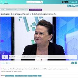 Claire Pascal, Comundi - Les impacts de la crise pour le secteur de la formation professionnelle