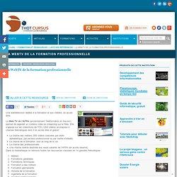 La WebTV de la formation professionnelle