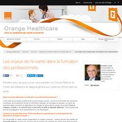 Les enjeux de l'e-santé dans la formation des professionnels