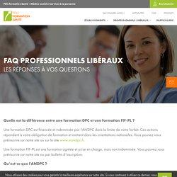 Pôle Formation Santé – FAQ Professionnels Libéraux