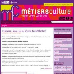 Formation : quels sont les niveaux de qualification ? - Métiers Culture