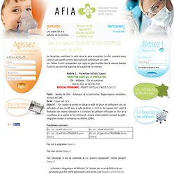 Formation qualite air interieur