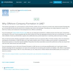 Why Offshore Company Formation in UAE?: rakoffshoredxb1