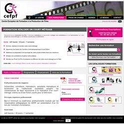 Formation Réalisation court-métrage à Paris