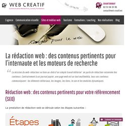 Formation à la rédaction web : des contenus pertinents et SEO friendly