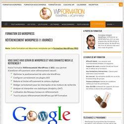 => Formation SEO WordPress / Référencement