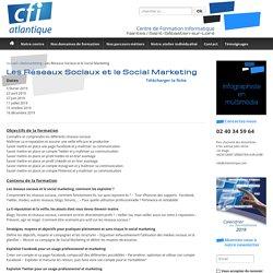Formation Les Réseaux Sociaux et le Social Marketing proche de Nantes