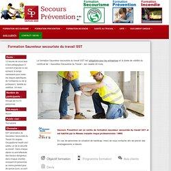 Programme formation sauveteur secouriste du travail SST