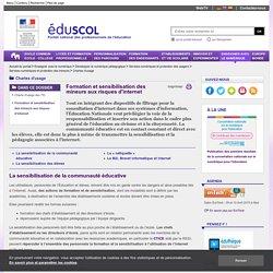 Chartes d'usage - Formation et sensibilisation des mineurs aux risques d'internet