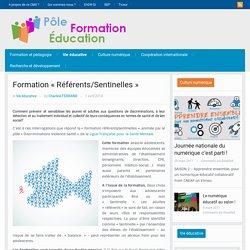 Formation «Référents/Sentinelles»