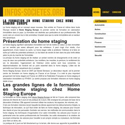 La formation en home staging chez Home Staging Europe - infos-societes.org