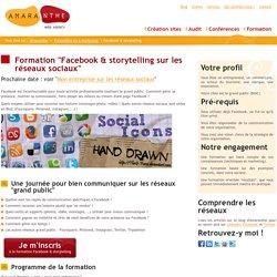 Formation Facebook & storytelling sur les réseaux sociaux à Eghezée (Namur)