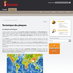 Formation de la Terre et tectonique des plaques : Vulcania Science