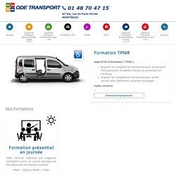 Formation TPMR - Ode transport