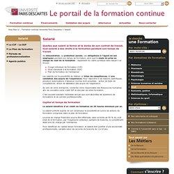 Salarié / Profils / Accueil - Site de formation Descartes