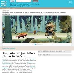 Formation Jeu vidéo à l'Ecole Emile Cohl, école d'art et de dessin Lyon
