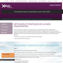 Formation Data Visualisation avec Paul Kahn - Xebia Training