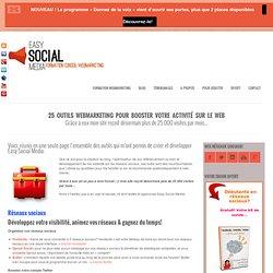 Formation marketing internet et réseaux sociaux25 outils webmarketing pour booster votre activité sur le web