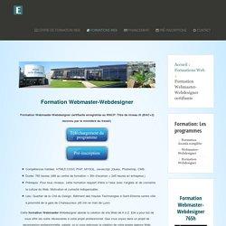 Formation Webmaster diplômante CIF Fongecif PHP MYSQL